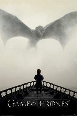 Poster con diseño Game of Thrones, 61 x 91.5 cm