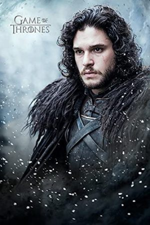Jon Snow Game of Thrones Maxi Poster, Multicolor, 61 x 91,5 x 1,3 cm