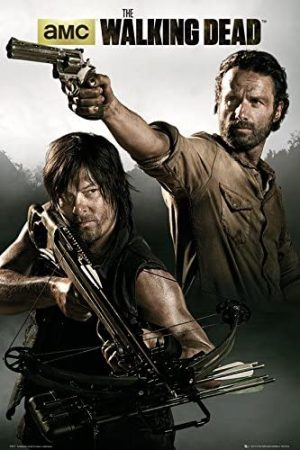 Ltd The Walking Dead Rick & Daryl Poster