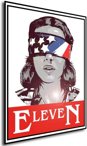 TV Series - Stranger Things 3 - Eleven A3 42x30