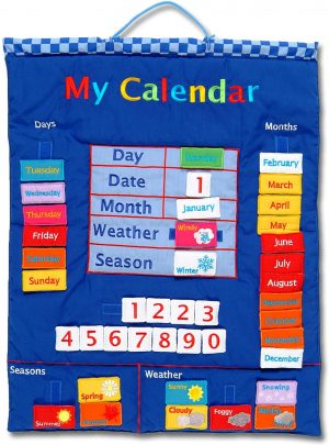 Wallhangings - Calendario de Tela para Pared (en inglés)