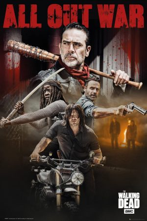 Limited FP4600, Poster con The Walking Dead Season 8
