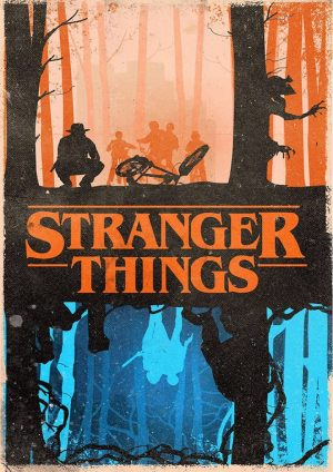 "Poster Stranger Things""Vintage"""