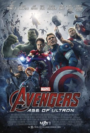 POSTER VENGADORES AGE OF ULTRON 100X70CM.