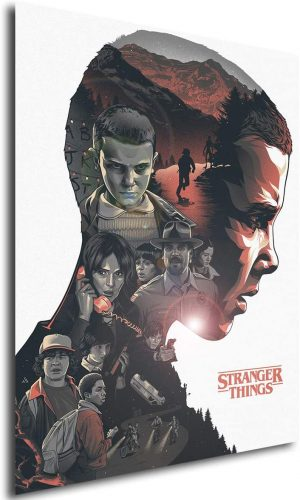 Poster Stranger Things (A) - A3 (42x30 cm)